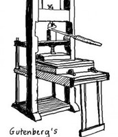 Gutenburgs printing press