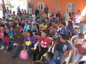 Kids gather at VBS