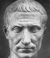 Sculpture of Julius Caesar