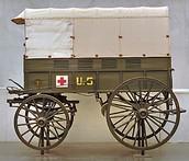 Red Cross Ambulance Wagons