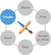 Create Activities Online, Share, or Find Activities
