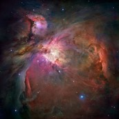 Orion Nebula Space Clouds