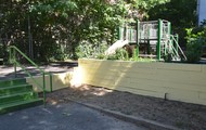 Garden Walls Repainted