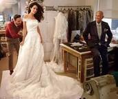 Oscar dressed George Clooney's Wife!