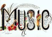 Eschucho música.
