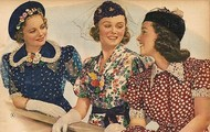 Women's fashion in the 1930's
