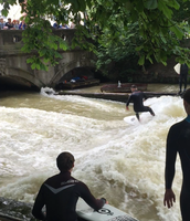 River Surfing in Germany