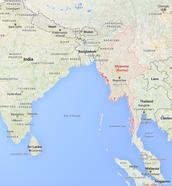 Mayanmar and Malaysia