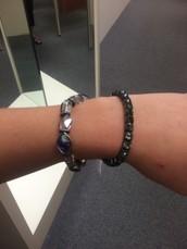 two Vera Wang bracelets