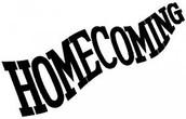 Homecoming Week: October 5th-9th
