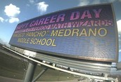Medrano MS Highlighted on I-30 Billboard