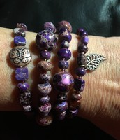 Stackable Beaded Bracelet Collection
