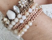 #5 - Bead + Chain Multi Wrap Bracelet