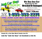 We Pay Cash For Junk Cars In Washington DC