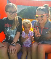 My niece Callie, my sister, and I