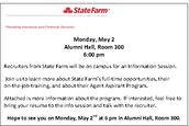 StateFarm Recruiting Session