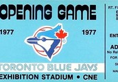 First game for the Blue Jays