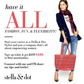 Start a life changing career with Stella & Dot!
