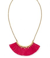 SOLD-Eden fringe necklace