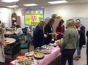 Another great array of food. Thanks to those who contributed.