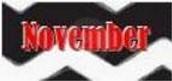 November Key Dates