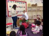 1st graders developing number sense with rekenreks