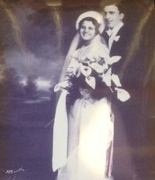 Elvira and Michael on their wedding day