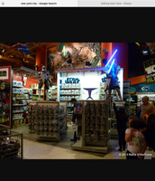 Star Wars in the toys r us store