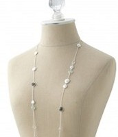 Monterey silver necklace 42
