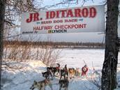 Junior iditarod checkpoint
