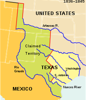 Texas Annexation History