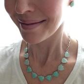Aqua Somervell Necklace $29.50 (retail $59)