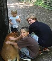 Mr. Fleischman's children Brielle, Jack, and Henry