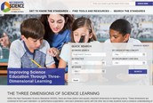NGSS WEBSITE GETS A MAKEOVER