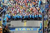 Boston Marathon 2014 starting line