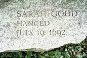 Sarah Good