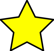 A star I made in paint.