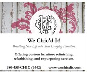 We Chic'd It! ~ Breathing New Life Into Your Everyday Furniture