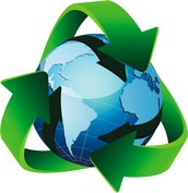 So the world will be more green we can recycle bottles, plastic and glass.