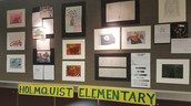 Holmquist Art Work at the District Office