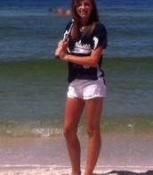 Yo iba para la playa.