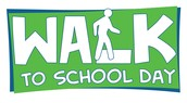 International Walk to School Day is Wednesday, October 8th!