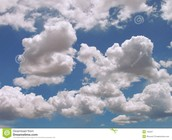 pufy clouds