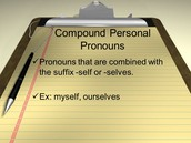 Pt 4 Compound personal pronouns