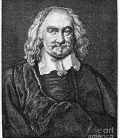 A portrait of Thomas Hobbes