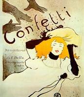 Confetti Poster: 1894