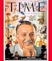 Walt Disney featured in Time Magazine