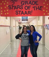 South students walked the red carpet like stars on STAAR testing day.