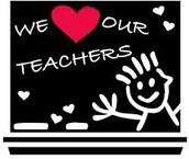 Teacher Appreciation Week May 4th