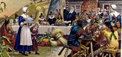 The food the pilgrims ate on the first Thanksgiving, By : Shannon Gomez, and Christina Krainias